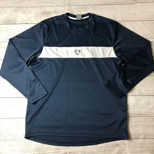 Nike Mens Size Large Navy Blue Long Sleeve Top